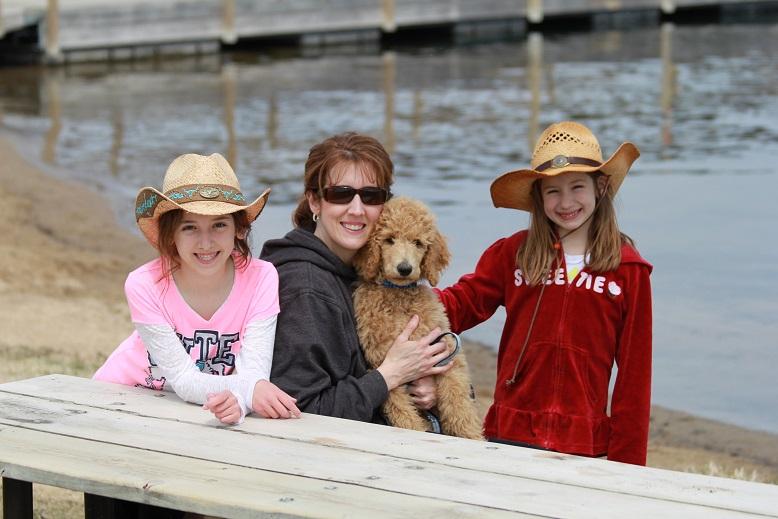 Testimonial – Standard Poodle 'Yogi Laskowski Family'